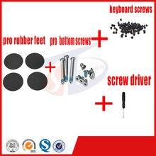 4pcs set for macbook pro 13 15 17 A1278 A1286 A1297 pro rubber feet foot bottom