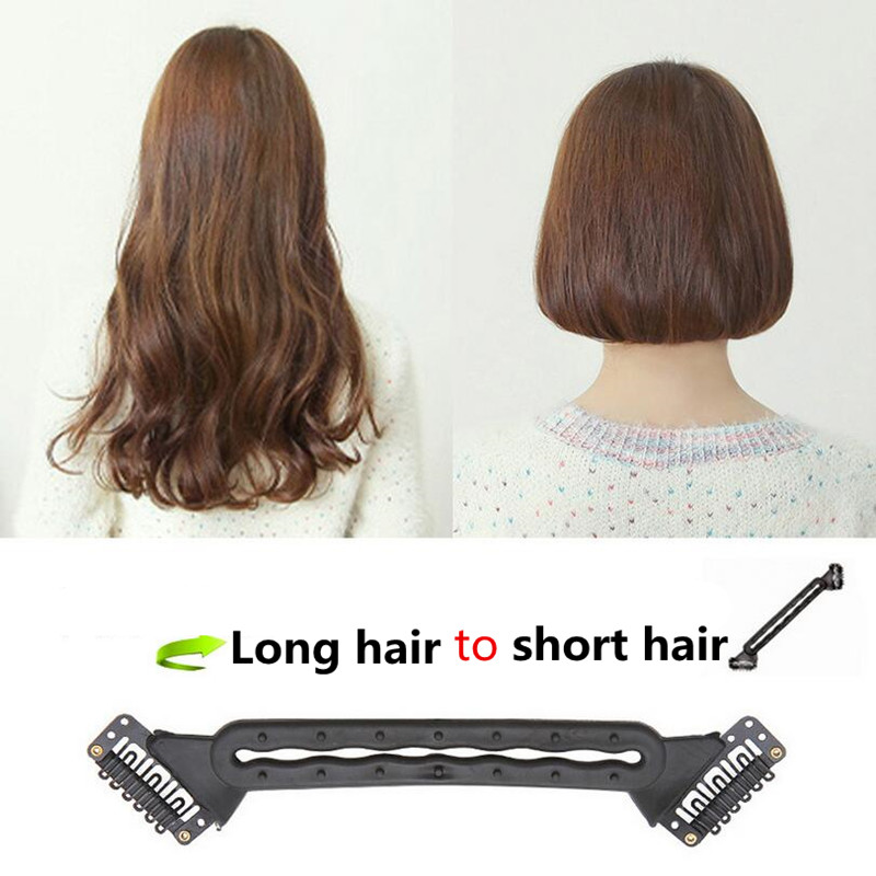 hair style tool 2017 1 pc new fashion style hair braiding braider 2654 | 2017 1 Pc New Fashion Style Clips Hair Braiding Braider Tool Long Become Short Bobo Hairstyle