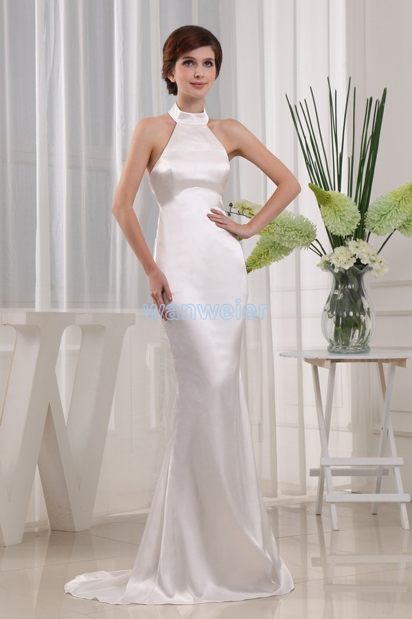 848f2ddc5f7 free shipping new fashion 2016 hot elegant formal dress design gown brides  maid custom size white sexy Mermaid evening dresses-in Evening Dresses from  ...