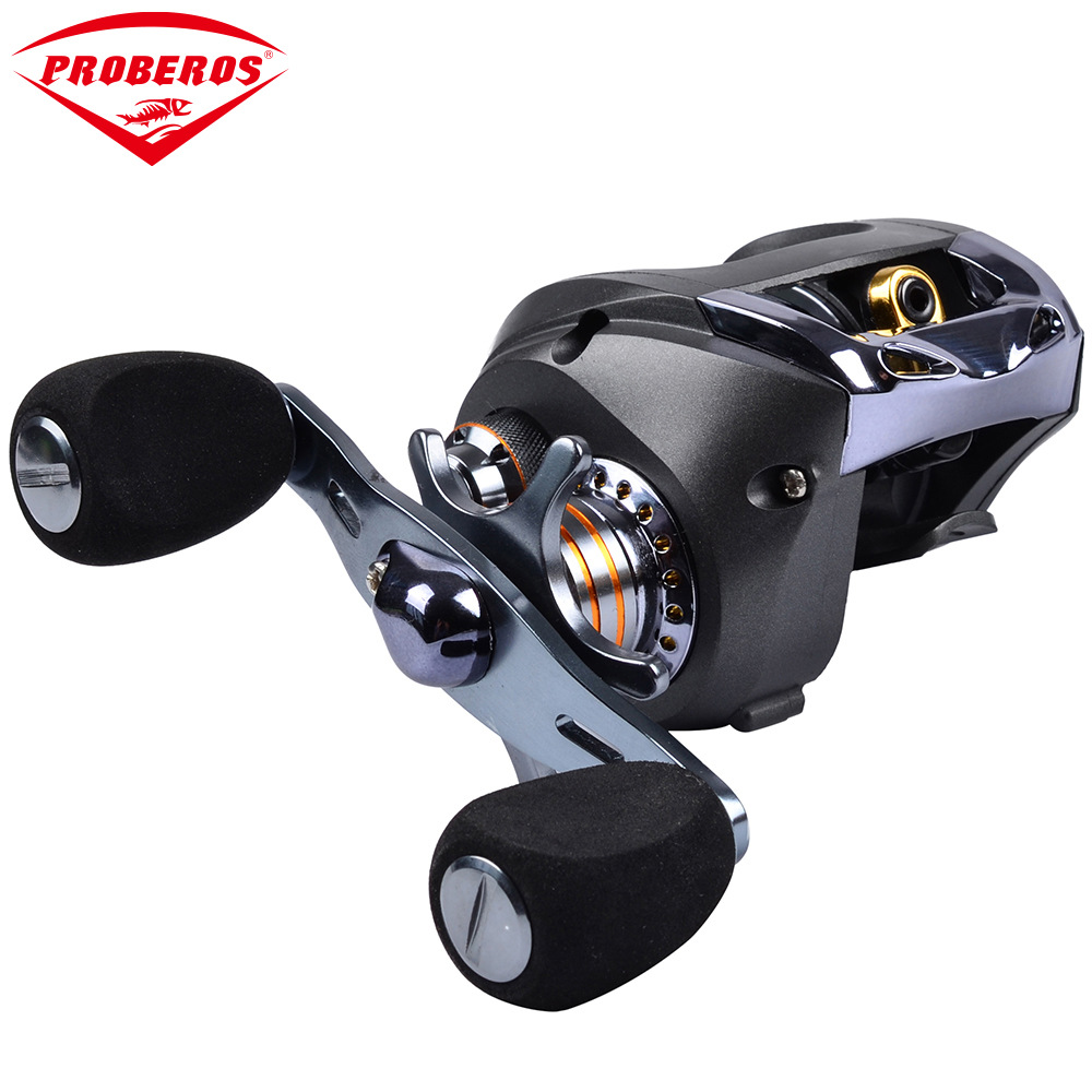 8BB Ball Bearings Raft Fishing Reel 6.3:1 Fishing Reel Metal Spool Reel Right/Left Hand Raft Reel Pesca Carp Fishing
