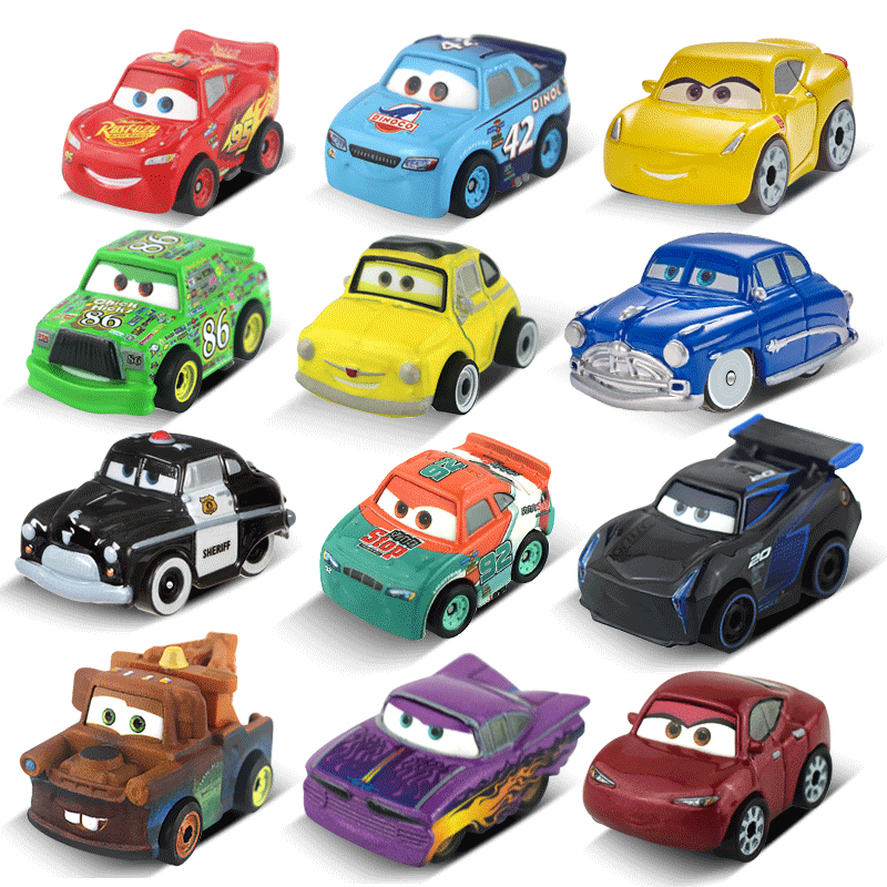 Disney Pixar Cars 3 Mini Size Metal Black Storm Jackson Car Toy Mini