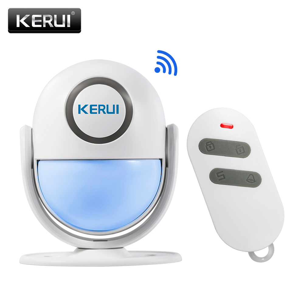 KERUI WP6 WIFI App Control PIR Motion Detector Alarm Wireless Home Led Flash Light Security Burglar Alarm System kerui wireless wired gsm voice burglar home house security alarm app control tft touch panel wireless smoke detector pir sensor