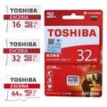 TOSHIBA карты памяти 16 ГБ 32 ГБ 64 ГБ 128 ГБ карта micro sd class10 SDHC/SDXC UHS1 48 м/с 3.0 флэш-карты Памяти microsd для смартфон