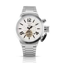 Orkina Tourbillon Автоматические Часы Из Нержавеющей Стали Серебро Само Ветер мужская Механические Наручные Часы Reloj Hombre