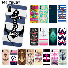 MaiYaCa Hot Boat Anchor on sell funny Fashion Luxury phone case for iphone 11 pro 8 7 66S Plus X 10 5S SE XR XS XS MAX cover(China)