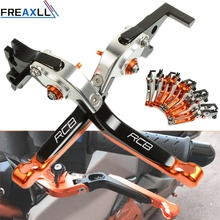 For KTM RC8 RC 8 2009 2010 2011 2012 2013 2014 2015 2016 Levers Foldable Extendable Adjustable Motorcycle Brake Clutch Levers cnc aluminum motorbike motorcycle brake clutch levers foldable extendable for ktm rc8 rc8r rc 8 rc 8r rc 8 8r 2009 2016