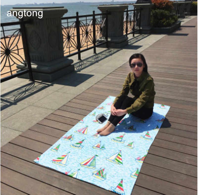 170X95 см большой банное полотенце с лодки реактивной печати, экспорт европейских и американских мягкие быстросохнущие плавать взрослых из чистого хлопка пляжное полотенце
