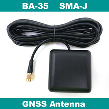 BEITIAN, externo antena GNSS, NEO M8N M8P M8T solução, ativa de alto ganho patch antena cerâmica, SMA-J conector BA-35