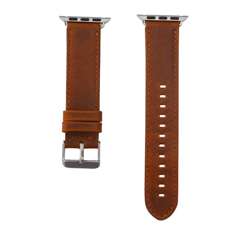 Bracelet de montre en cuir véritable de la série 2/1 pour la bande - Accessoires montres - Photo 4