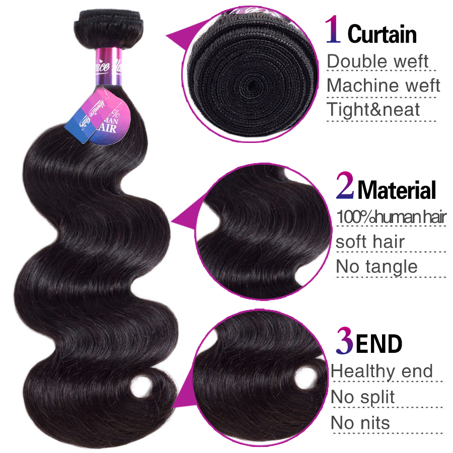 Mornice malaysian body wave hair weave bundles non remy hair mornice malaysian body wave hair weave bundles non remy hair extension human hair extensions 100 human hair weave bundles in hair clips pins from beauty pmusecretfo Choice Image