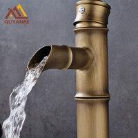 Free Shipping Euro Retro Singe Handle Bathroom Basin Kitchen Deck Mounted Sink Mixer Faucet Antique Brass
