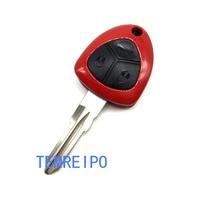 5pcs/lot Replacement 3 button Sport Car Key Shell For Ferrari Remote Key Shell Keyless Entry 458 ITALIA F12 612 CALIFORNIA 599