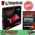 Kingston hyperx salvaje ssd 256 gb hdd 240 gb sata disco duro externo disco duro externo portátil ordenador portátil sólido disco de estado