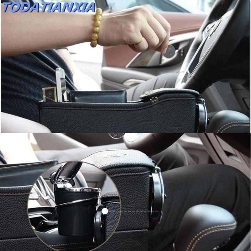 Car Seat Storage Bag Box Crevice Storage Box Organizer for ford passat b6 fiat stilo jeep compass 2018 peugeot 208 hyundai hb20