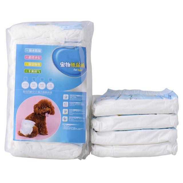 Set Super-absorbent Pet Diapers