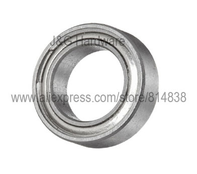 <font><b>MR128ZZ</b></font> Bearing 8x12x3.5 Shielded Miniature Ball Bearings 100 pieces image