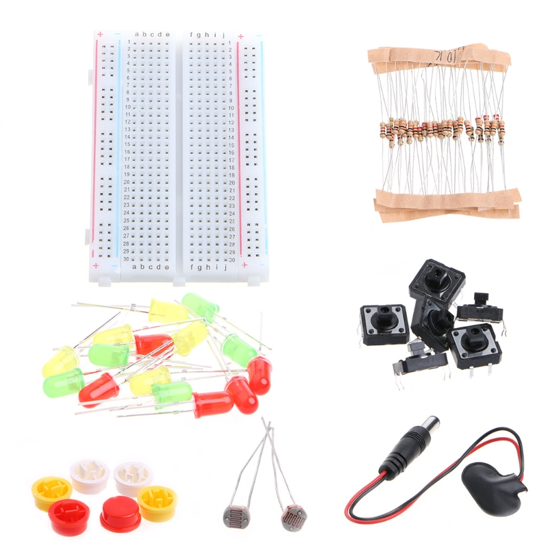 High Quality New 2019 Starter Kit UNO R3 Mini Breadboard LED Jumper Wire Button For Arduino