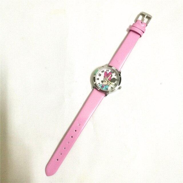 New Quarzo orologio da polso per bambini ragazze regalo orologio cute cartoon Minnie mouse bambini studente orologio montre enfant relogio infantil