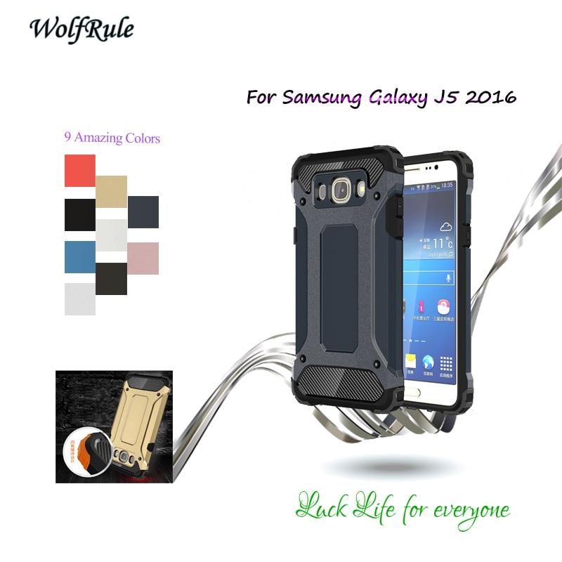 Galleria fotografica For Cover Samsung Galaxy J5 2016 Case TPU & PC Armor Phone Cases For Samsung Galaxy J5 2016 Cover For Samsung J5 2016 Case J510