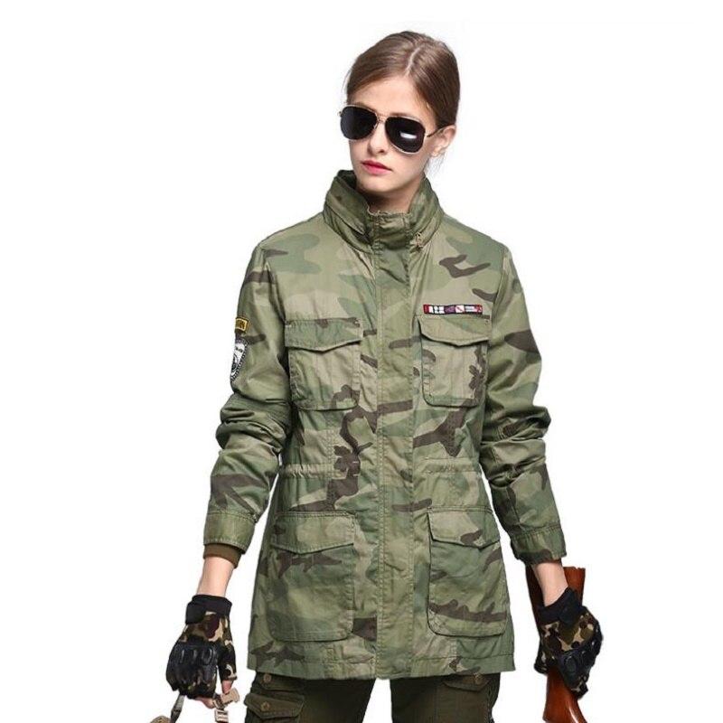 Nouvelle veste femme extérieure M65 coupe-vent tactique femmes sports loisirs grande taille manteau