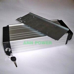 Image 5 - 18650リチウム電池ボックス用リアラックタイプ電動ケース36vまたは48 36v e バイクバッテリーアルミボックスインナーサイズ290*145*68ミリメートル