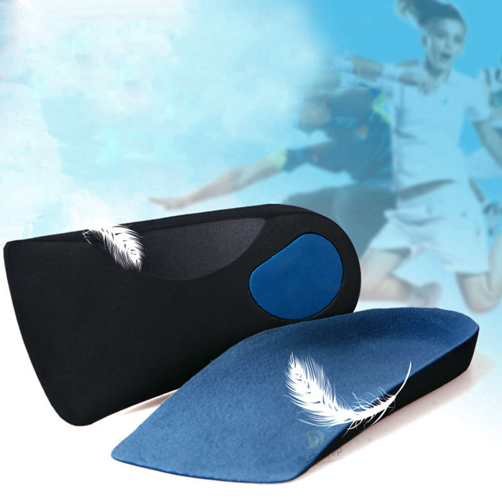 Men Women 3/4 Orthotic Sport Running Insole Insert Shoe Flat Feet Pad Support Cushion for Fitness Running Camping H