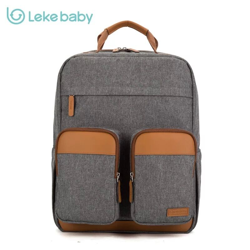Lekebaby Baby Mom mummy maternity travel Nappy Changing Diaper Wet Bag backpack for stroller bolsa maternidad bolso materna 2in1 portable baby travel bag and carrycot outdoor folding bassinet baby crib diaper nappy changing bag mummy handbag