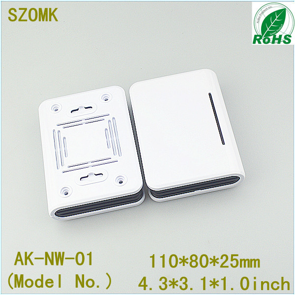 1 piece small size abs instrument case plastic network enclosure junction electronic project box electronic case 110*80*25mm 1 piece free shipping plastic enclosure for wall mount amplifier case waterproof plastic junction box 110 65 28mm