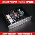 Топ цап DSD1796 x2 цап декодер PCM + DSD двойной декодирования поддержка XMOS USB / I2S dsd64-256, 32Bit / 384 К