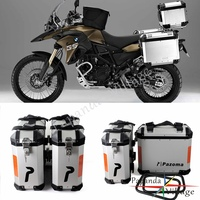Universal 36L Motorcycle Pair Side Box Side Case Saddle Bag Pannier Cargo for BMW F800GS F800R 2009 2014