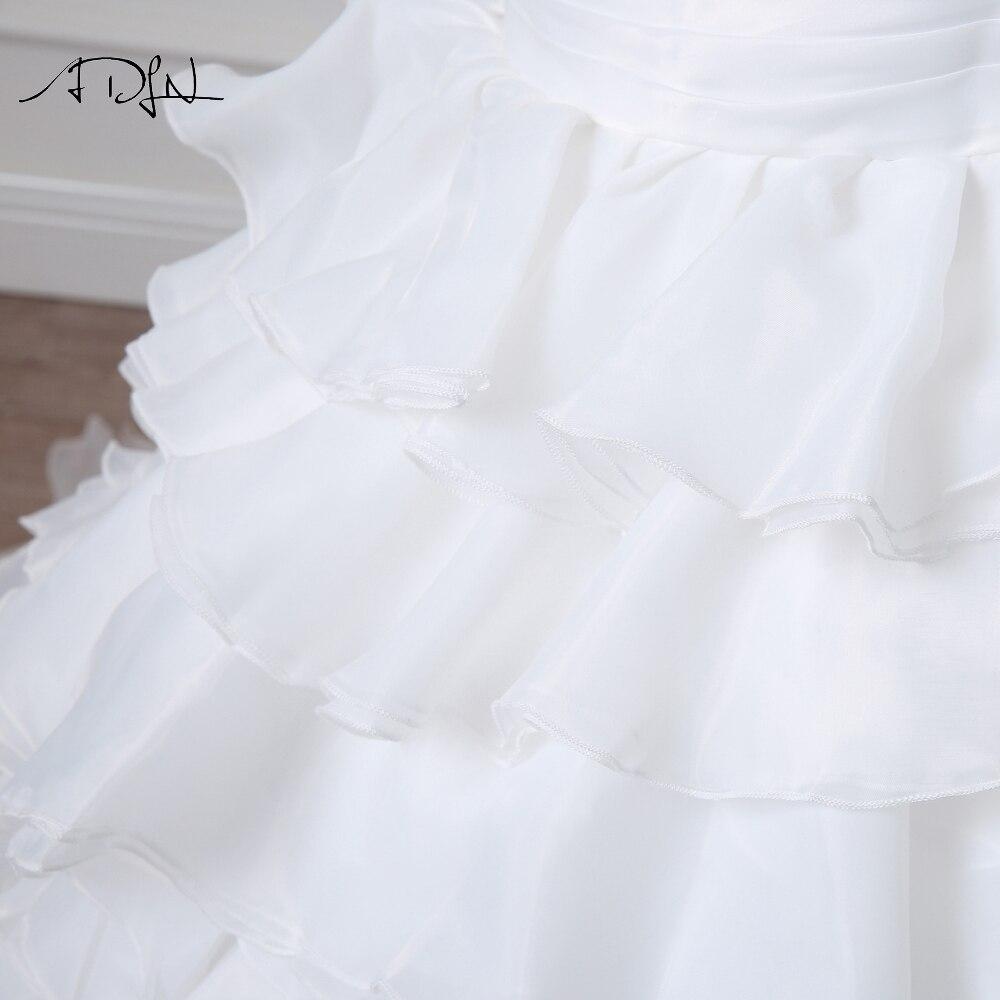 Noua Design vestidos de novia A-line Sheer Neckline imbracate cu - Rochii de mireasa - Fotografie 6