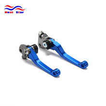Motocross Pit Bike Pitbike Pivot Brake Clutch Lever For YAMAHA YZ80 YZ85 YZ 80 85 2015 2016 15 16 Motorcycle cnc pivot brake clutch levers for yamaha yz80 yz85 2015 yz motocross enduro motard