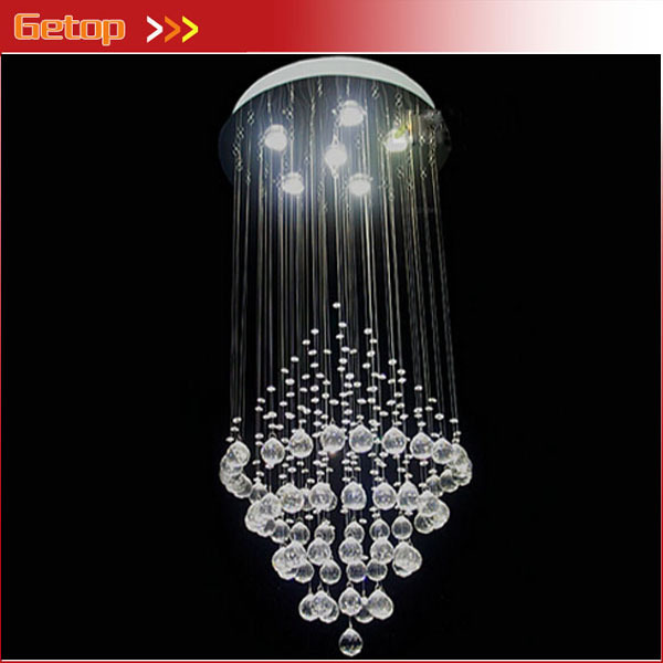 Best price modern k9 crystal chandeliers living room lights circular best price modern k9 crystal chandeliers living room lights circular cone led crystal lamp hanging wire aloadofball Gallery