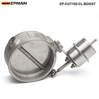 NEW Boost Activated Exhaust Cutout Dump 102MM CLOSE Style Pressure About 1 BAR For VW Polo