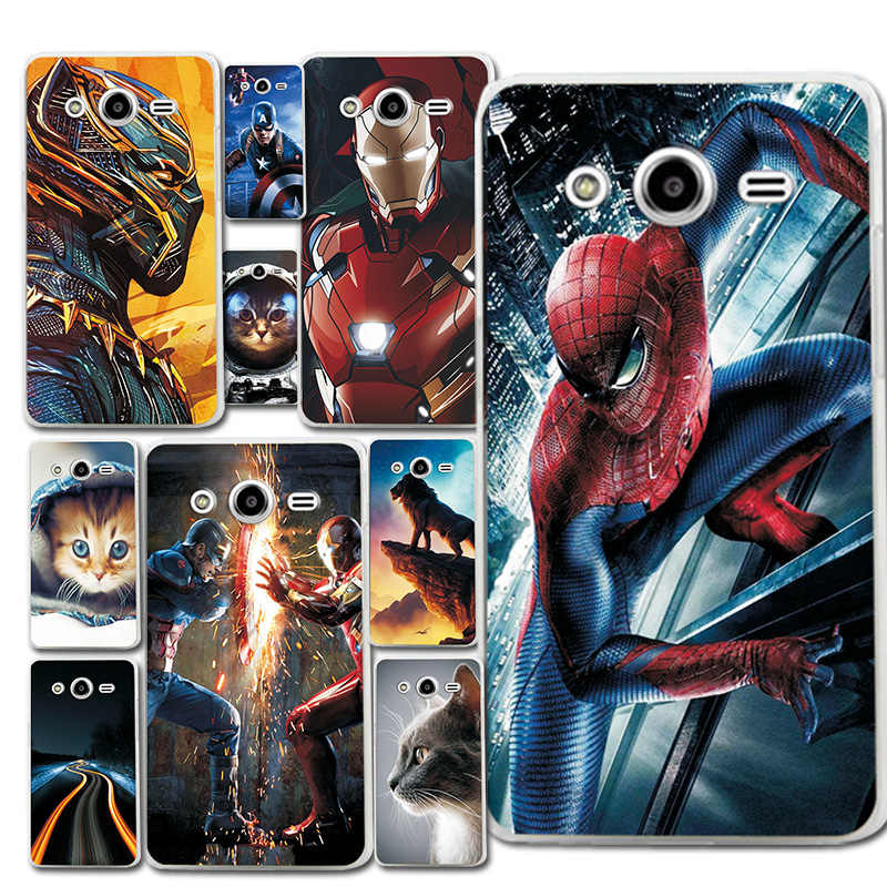 Starry Sky Phone Bags For Samsung Galaxy Core 2 G355H 4.5' Spiderman Case Cover Fantasy Brilliant Fundas For Galaxy Core 2 G355H