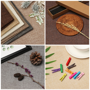 Image 1 - 1PC 45*50 45*100 Photography Limitation Linen Solid Color  Background Cloth Woven Fabric Vintage Background Props High Quality