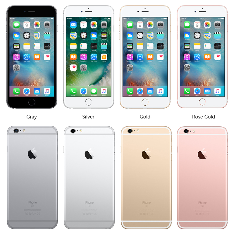 """Image 2 - Unlocked Apple iPhone 6S Plus 16/64/128GB iOS Dual Core 2GB RAM ROM 5.5"""" 12.0MP Camera LTE fingerprint 4K Video Mobile Phone-in Cellphones from Cellphones & Telecommunications"""