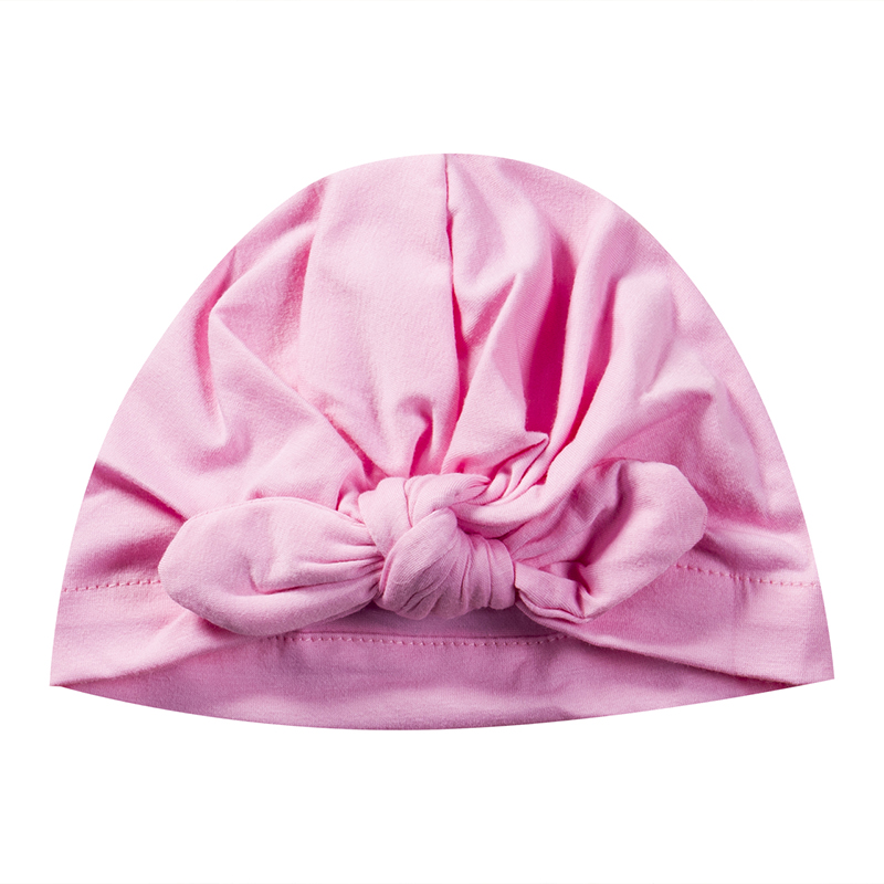 Newborn Baby Toddler Kids Boy Girl Bowknot Soft Cotton Beanie Hat Cute Baby Girl Winter Hat