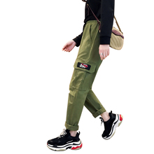 couple overalls streetwear mid big packet summer 2019 pants women long loose leisure fashionable punk ladies wide trousers