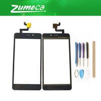 High Quality For Ginzzu S5001 Touch Screen Digitizer Touch Panel Lens Glass Replacement Part Black Color With Tape&Tool