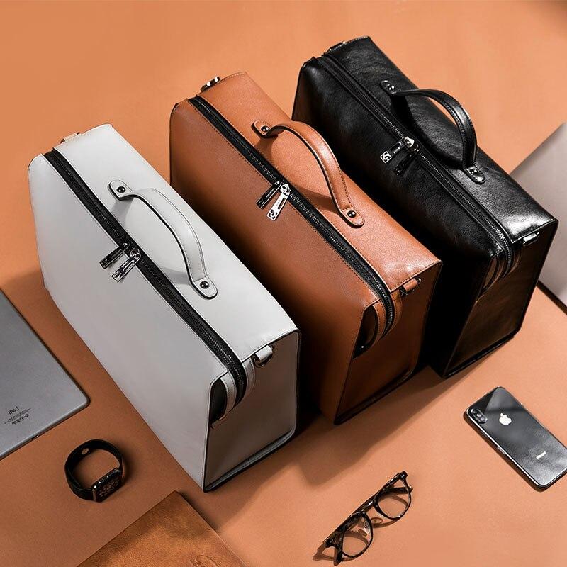 HTB1eaWsRwHqK1RjSZJnq6zNLpXas YINUO PU Leather Handbag High Capacity Shoulder Bag For 14inch Laptop Bag Briefcase Waterproof Detachable Summer Bag