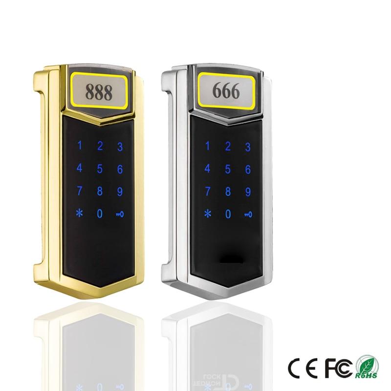 keyless Touch Keypad Password RFID Card Key Metal Digital Electronic Cabinet locker lock