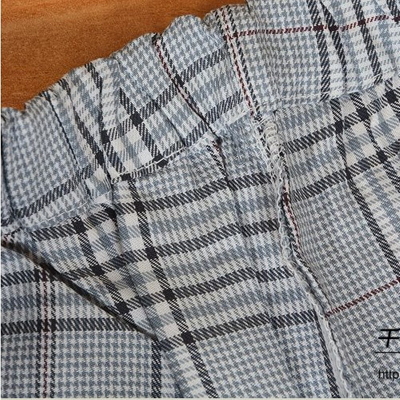 Pajamas for Men Autumn Long Sleeves Cotton Flannel Plaid Sleepwear Cardigan Pyjamas Trousers Men Lounge Pajama Set