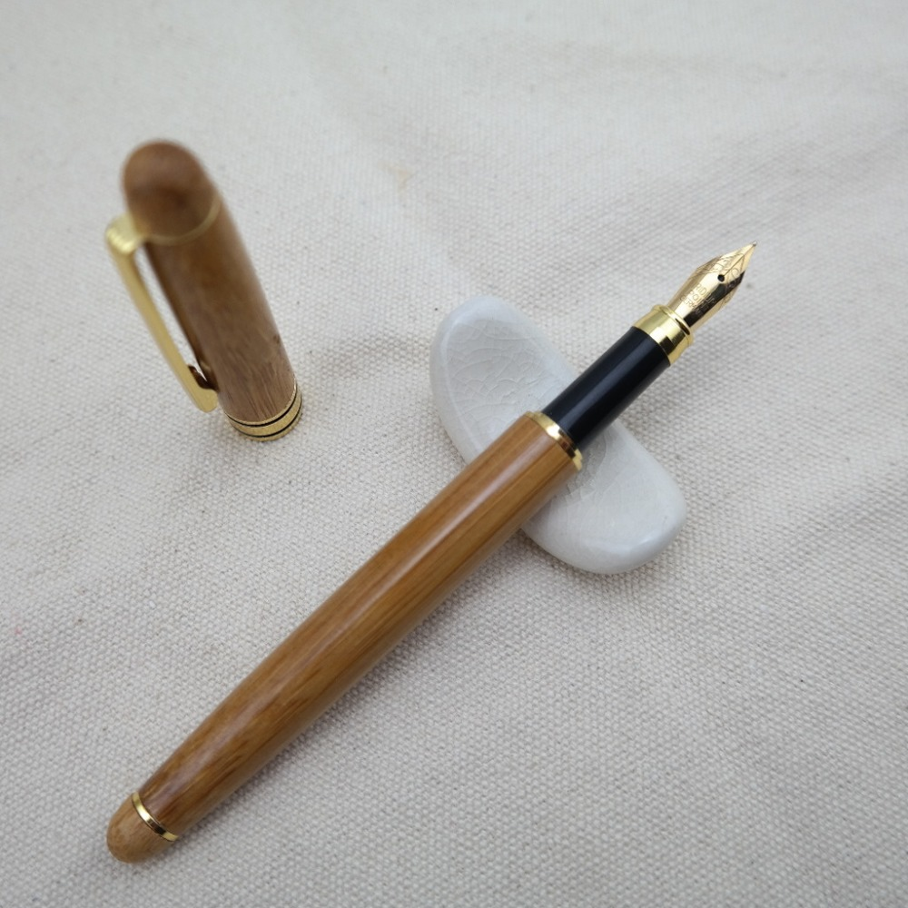 1 Pcs New High Quality Bamboo Pen Gift Pen Calligraphy