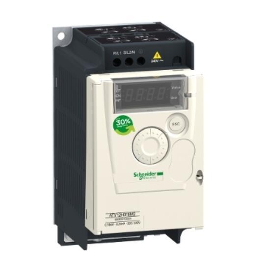Преобразователь частоты ATV12H037M3 ATV12-0.37kW-0.55hp-200 .. 240 В-3ph с теплоотвод