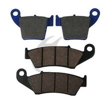 Motorcycle Front Rear Brake Pads For HONDA CRF 250 X / R 2004 CRE F300 X 2008(China)