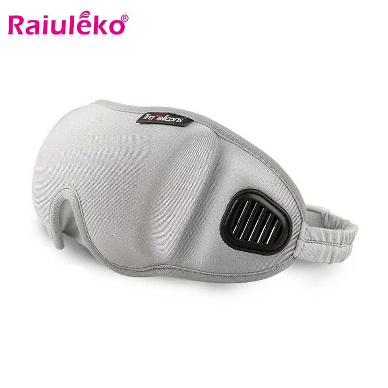 Летняя 3D маска для сна, повязка для глаз для женщин и мужчин, повязка для сна, маска для век, мягкий чехол для глаз, для отдыха в путешествии