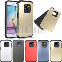 Dual Layer Shockproof Armor Protective Hybird Impact Hard Case Cover For Samsung Galaxy S6 G9200