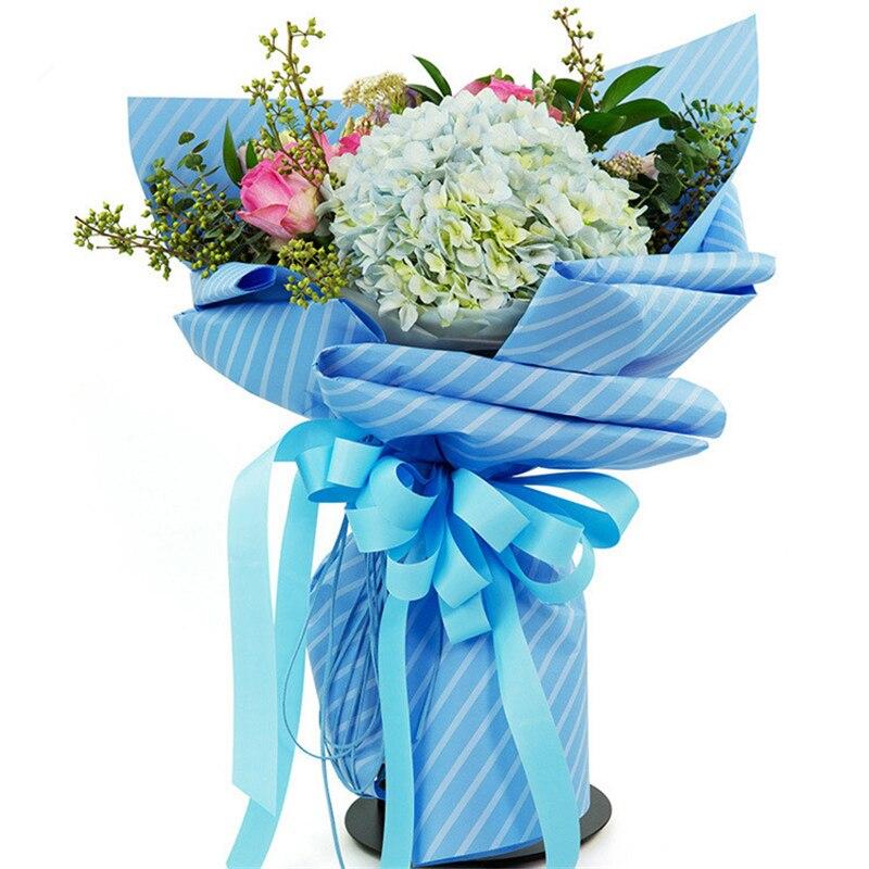3cm * 50 Yard Grosgrain Ribbon Wrap Flower Bouquet of Flowers and ...