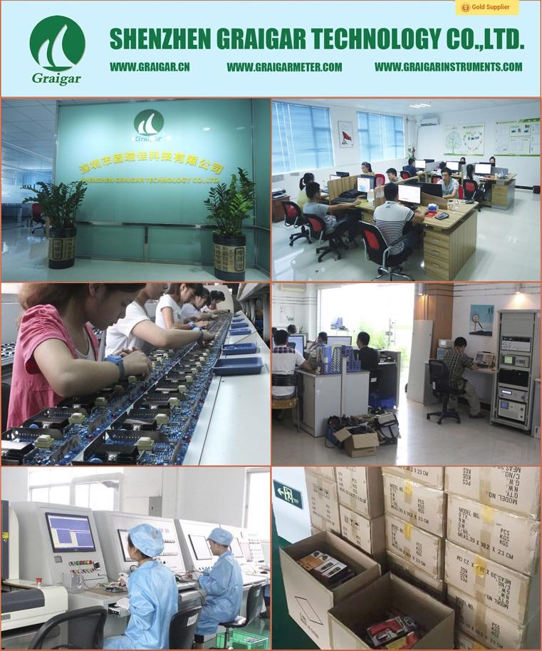 TM-3013 Portátil AC DC Clamp Meter Display